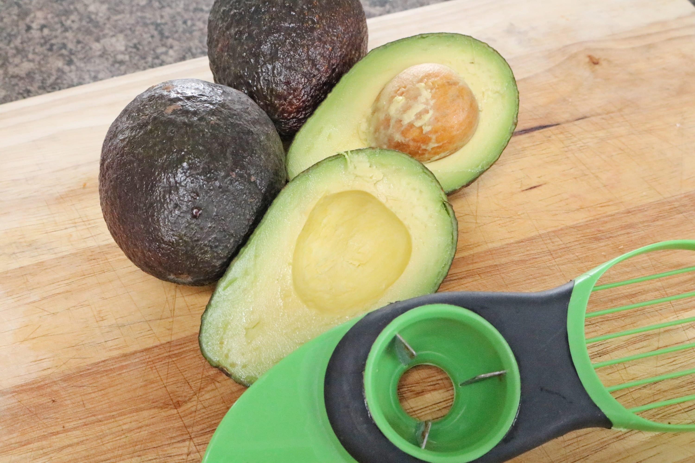 Gluten free tuna stuffed avocados
