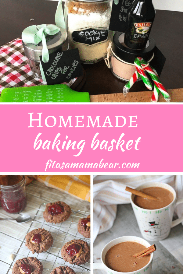 Homemade baking basket
