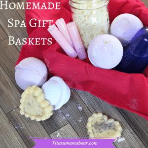 Diy spa gift basket