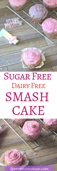 Healthy smash cake recipe