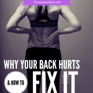 back pain, weak back poor posture, fitness, exercise, glutes, strength, strong, training, at home exercise, quick fix,
