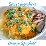 Secret Ingredient Orange Spaghetti