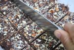 Healthy, no bake, gluten free, easy chocolate peppermint patty bars. Squares, busy mom, dessert, snack, kid treat, Christmas,