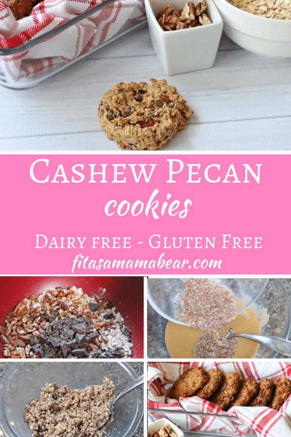 Cashew pecan cookies