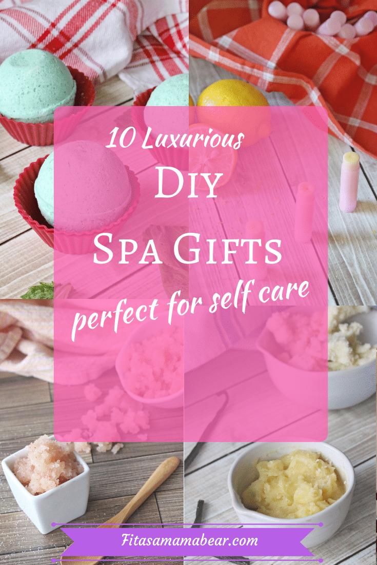 Diy spa gift ideas