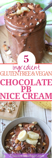 Chocolate pb nice cream