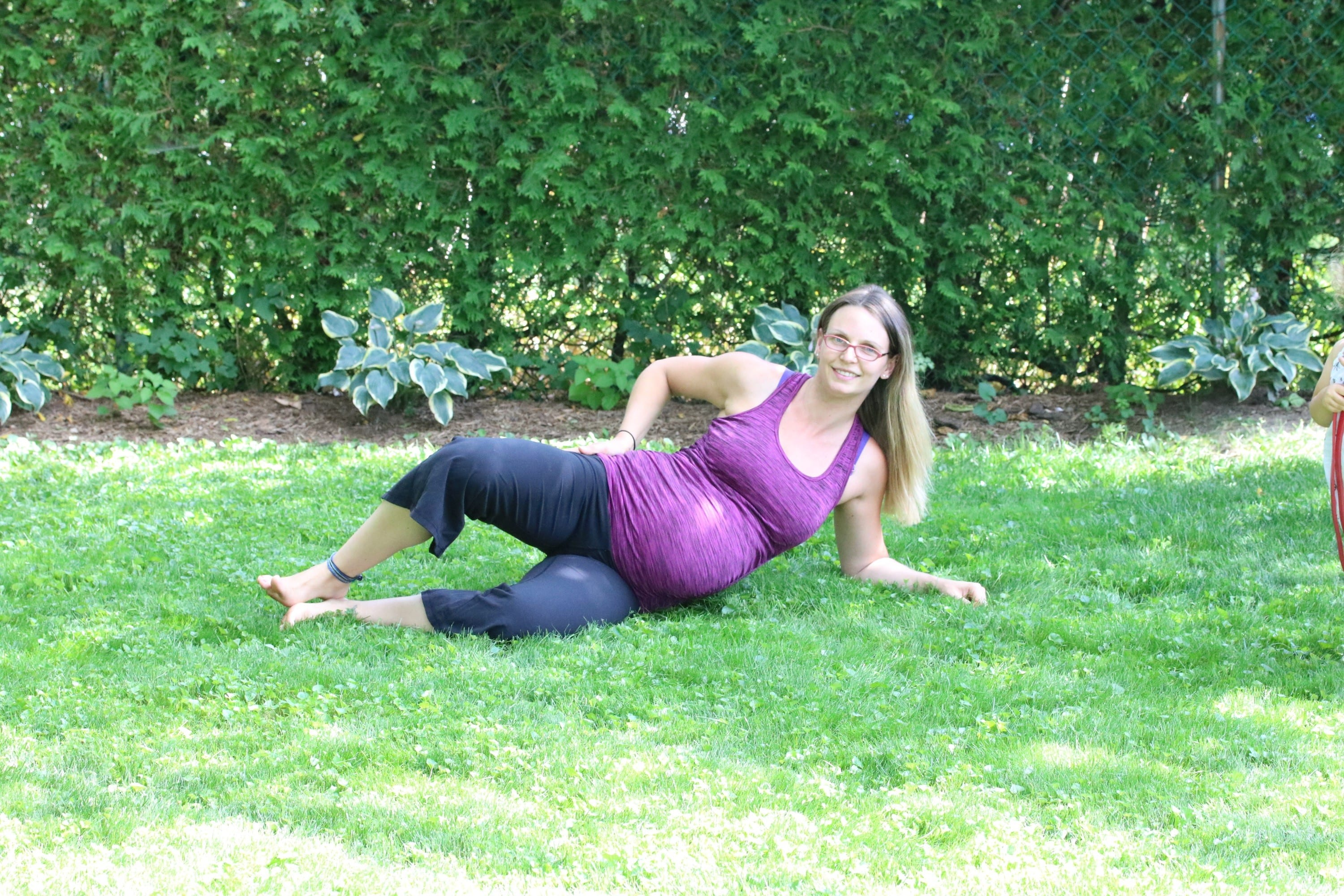 Hip exercises while pregnant
