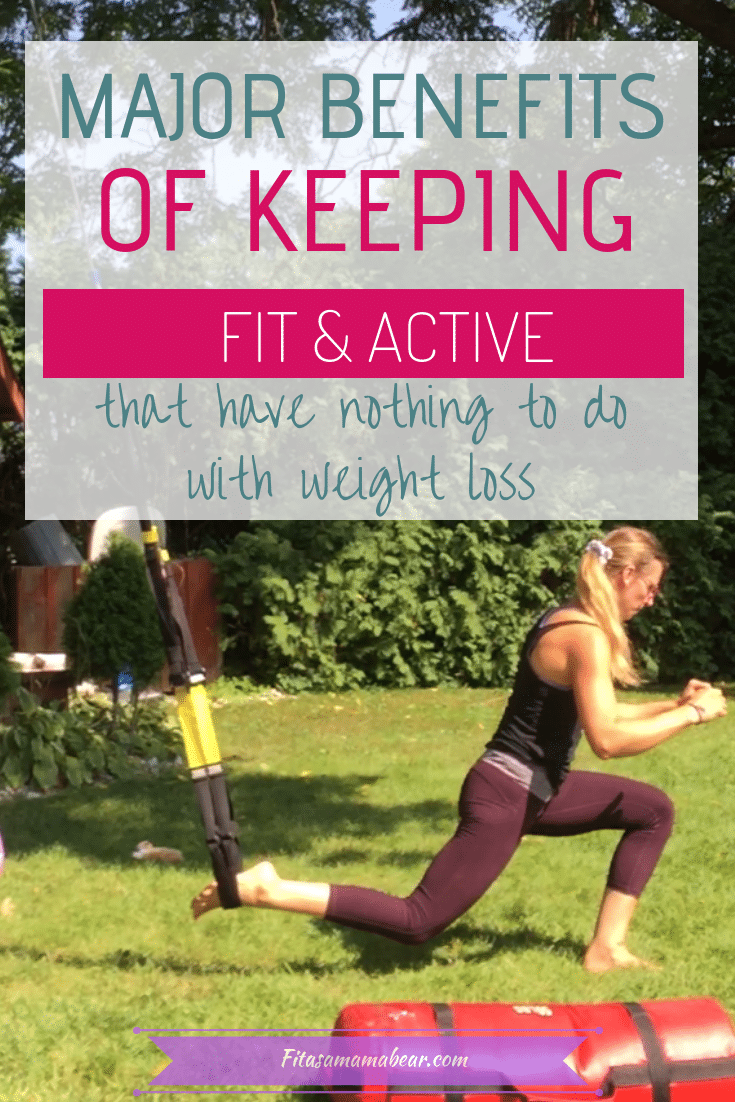 Benefits of being active