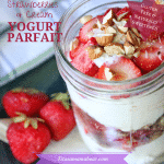 Strawberries & Cream Yogurt Parfait