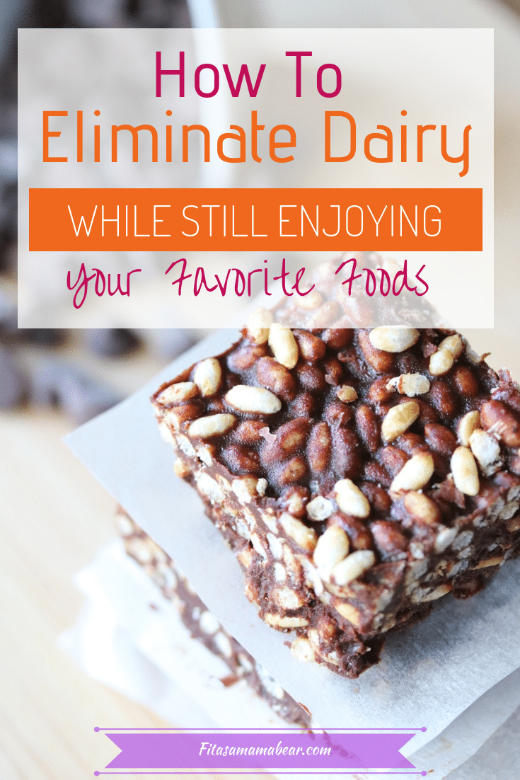 How to eliminate dairy from your diet