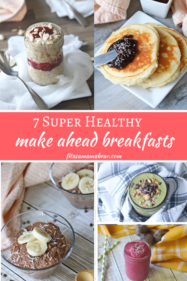 Healthy make ahead breakfast recipes