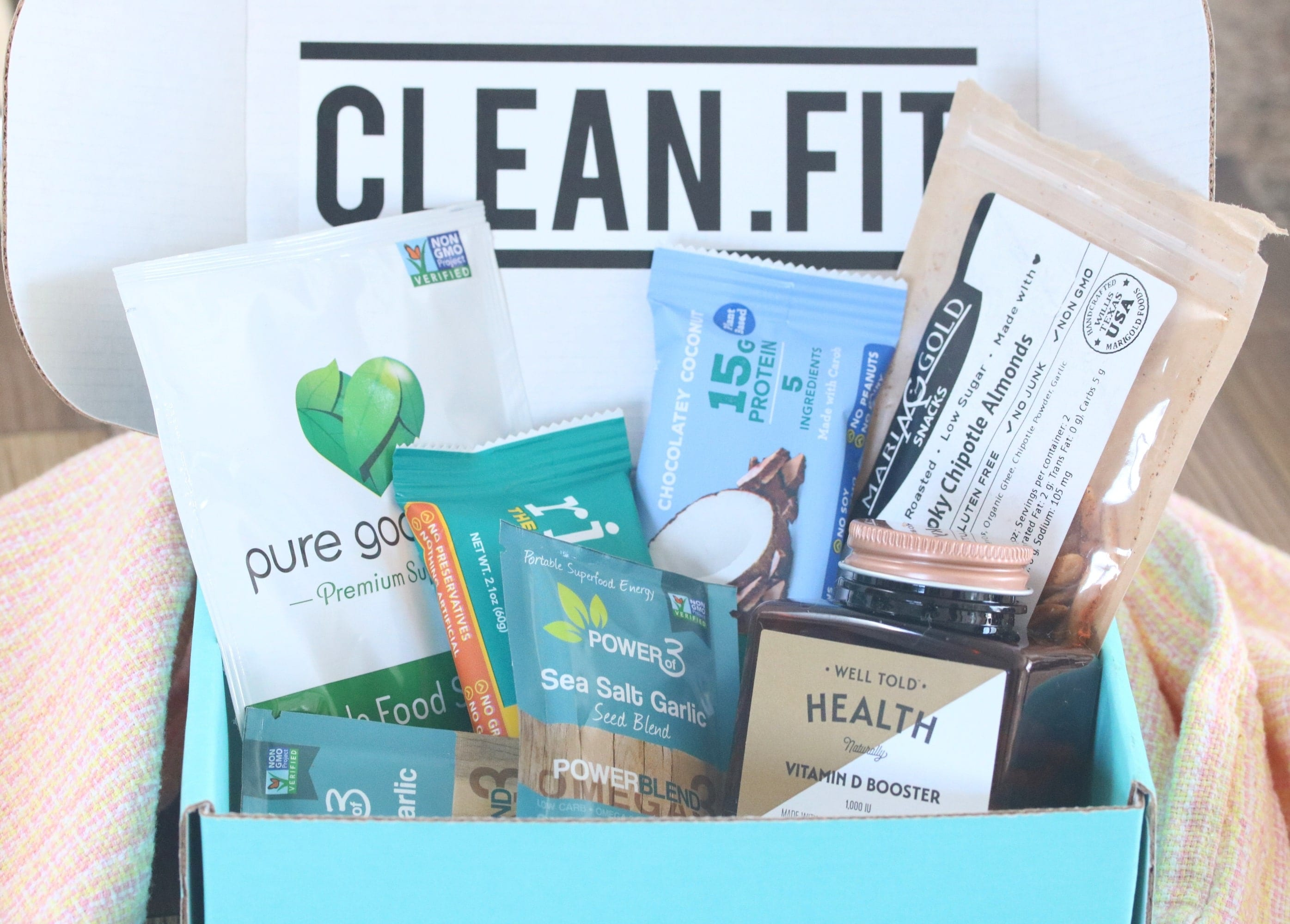 clean n fit snack box