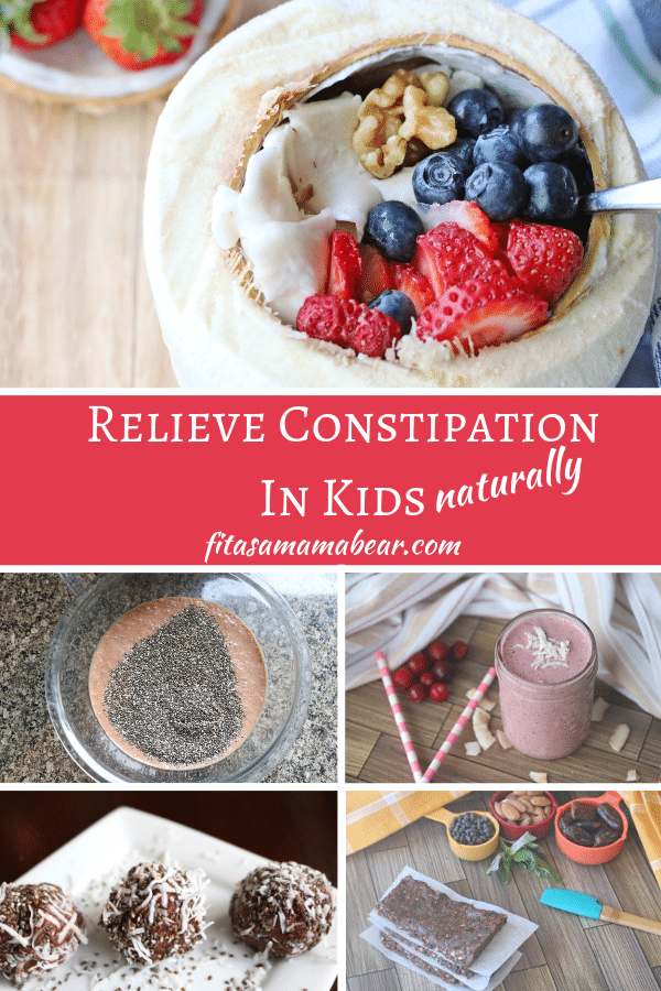 Foods to help relieve constipation in kids