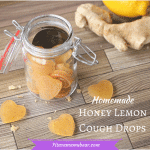 Homemade Honey Lemon Cough Drops