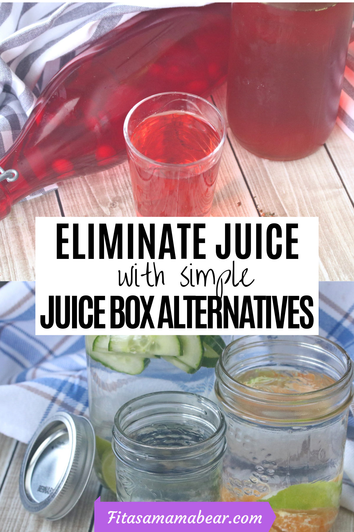 Juice box alternatives