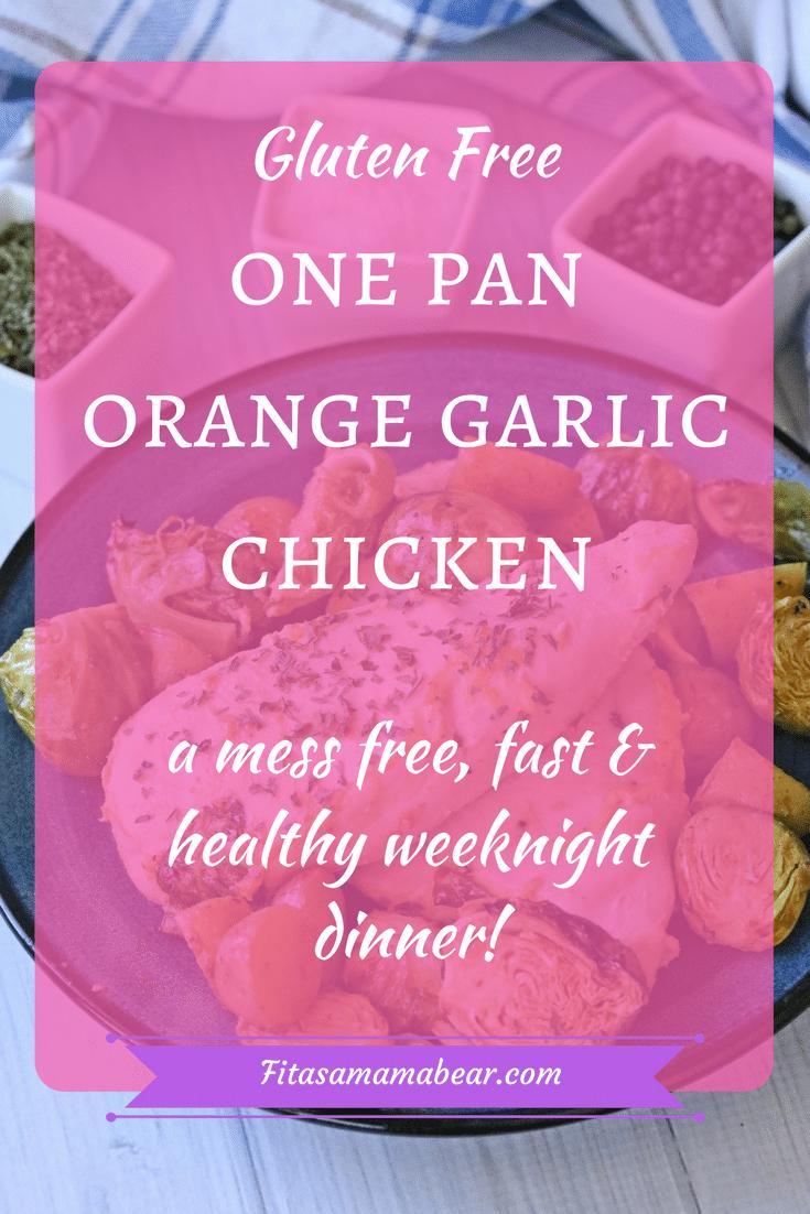 garlic chicken, one pan chicken. one pan dinner, gluten free recipe, healthy dinner recipe, quick dinner recipe., chicken and veggies, #chickendinner #onepandinner #dairyfree #glutenfreerecipe #healthydinnerrecipe