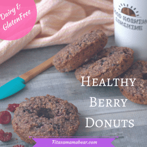 homemade donuts, healthy donuts, healthy breakfast recipe, gluten free, easy snack, healthy snack, chia seeds, oats, busy mom, clean eating,