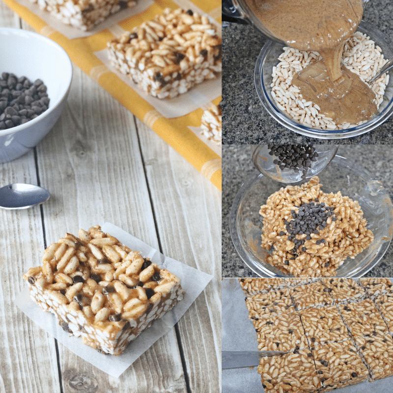rice krispies treat squares