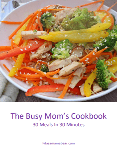 This cookbook was made specifically for busy moms who want to put healthy, nutritious dinners on the table in 30 minutes or less.