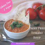 Homemade & Healthy Tomato Soup- Dairy Free