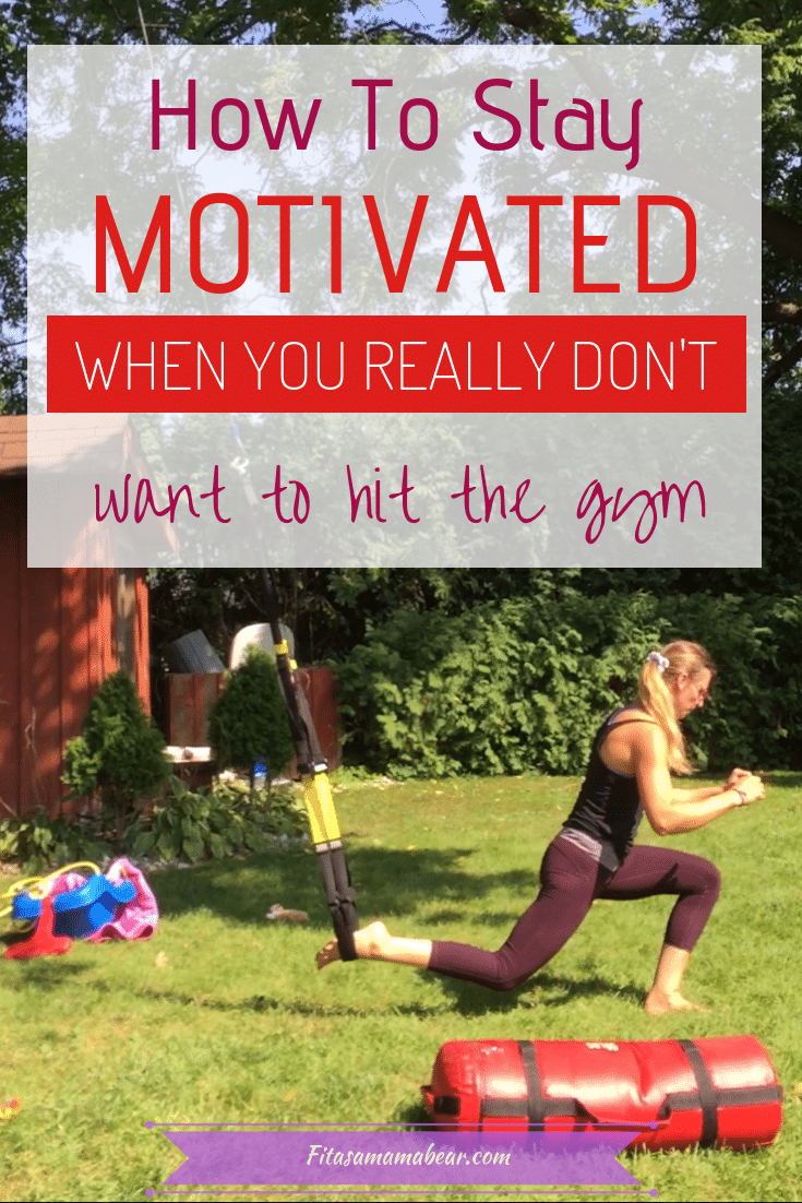 Tips to stay motivated with fitness
