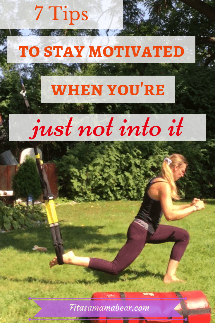 How to stay motivated with workouts