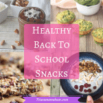 10 Healthy Back To School Snacks