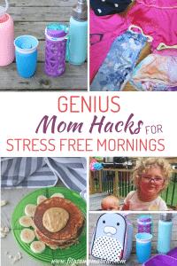 Mom hacks stress free mornings with kids