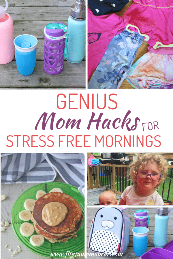 Mom hacks stress free mornings with kids