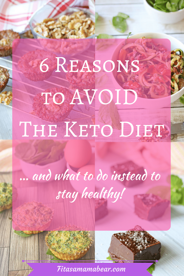 Recipes and reasons why you should avoid the keto diet