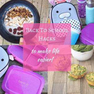 Mom hacks to make back to school easier