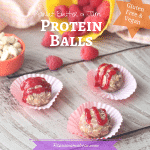 Peanut Butter and Jam Protein Balls – V/GF/DF