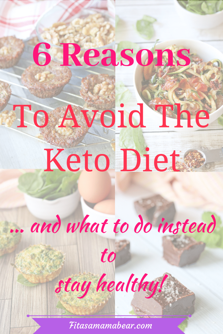 Why to avoid the keto diet