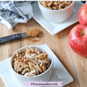 Apple Cinnamon Oatmeal Stovetop Recipe (Gluten-Free & Vegan)