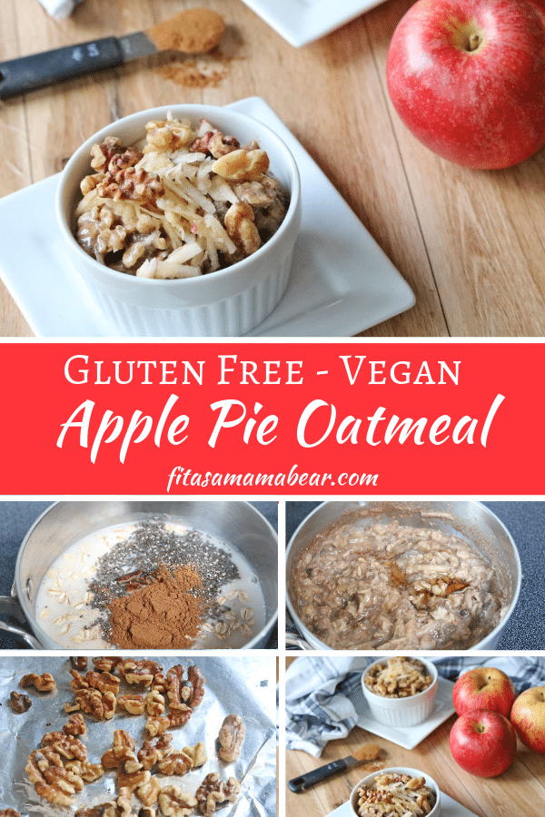 Healthy apple oatmeal