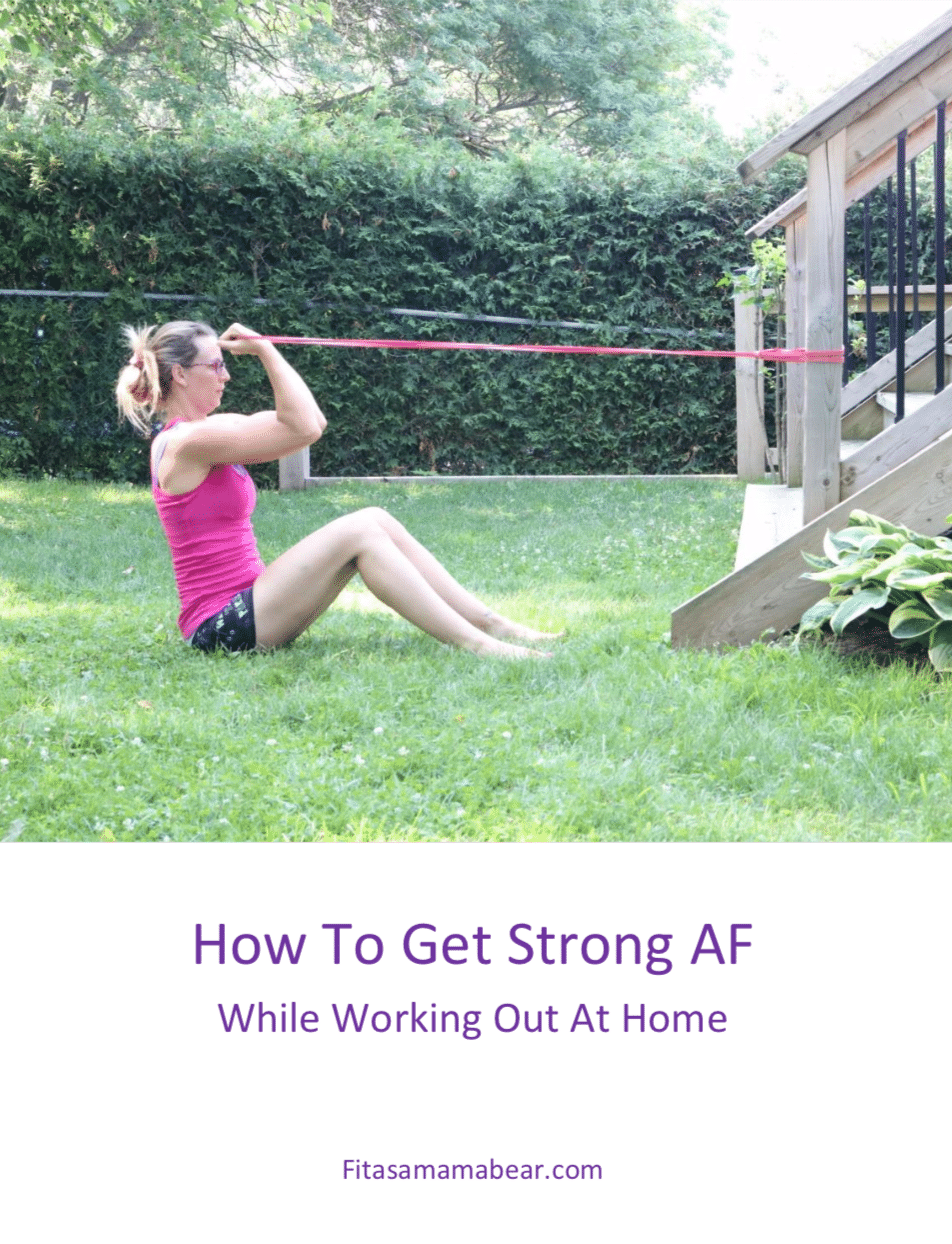 How to Get Strong AF e-Book Cover