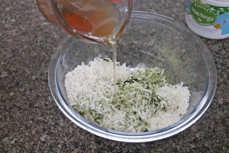 Energy boosting macaroons recipe prep