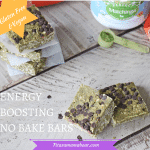 Energy Boosting No Bake Bars -GF/V