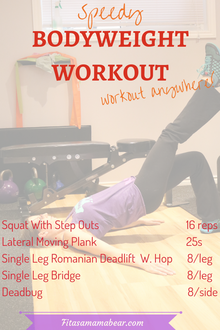 Fullbody workout routine