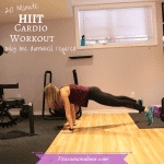 20 Min Hiit Cardio Workout