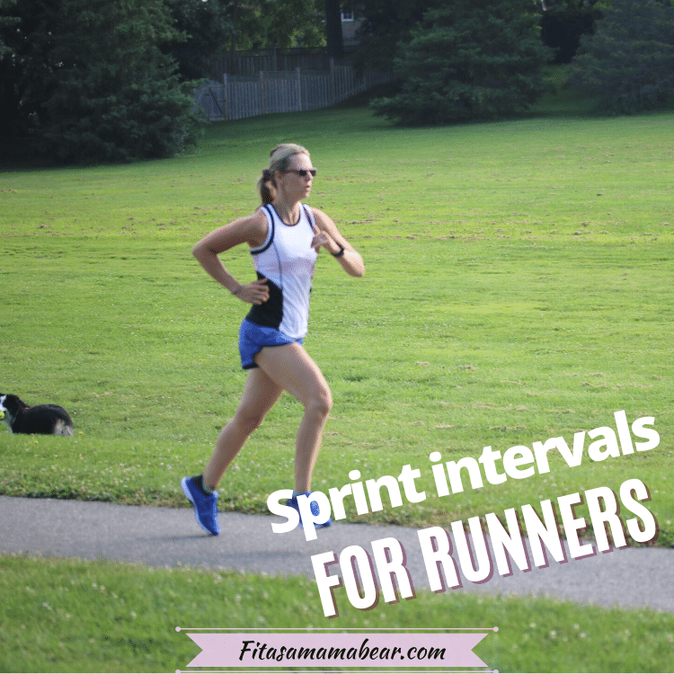 Featured image: a lady running through a park