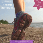 Sprint intervals for runners