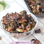 Candied Brussels Sprouts (Maple Roasted, No Bacon) -  Gluten-Free & Vegan