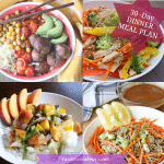 1 Month Of Simple Dinners – Real Food Based