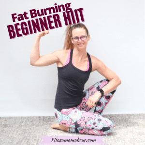 HIIT workout for beginners (Fat Burning Workout, No Equipment)