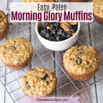 Paleo Morning Glory Muffins (dairy-free and gluten-free)