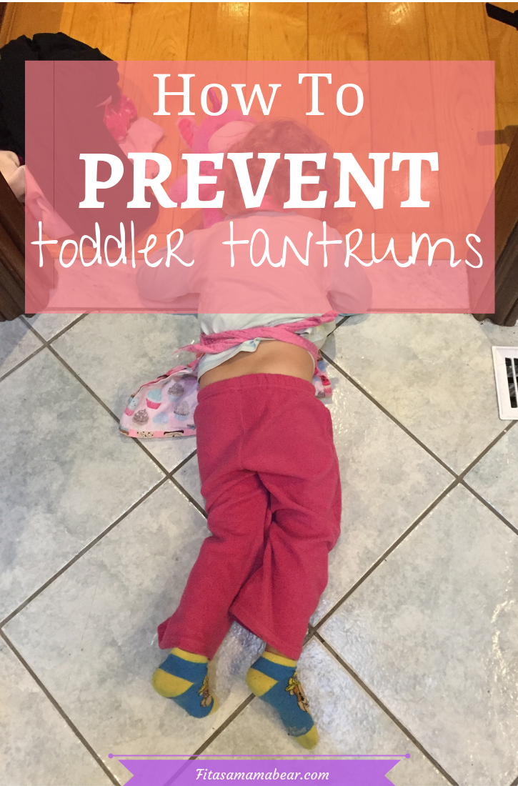 How to prevent temper tantrums
