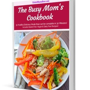 The Busy Moms Cookbook Cover