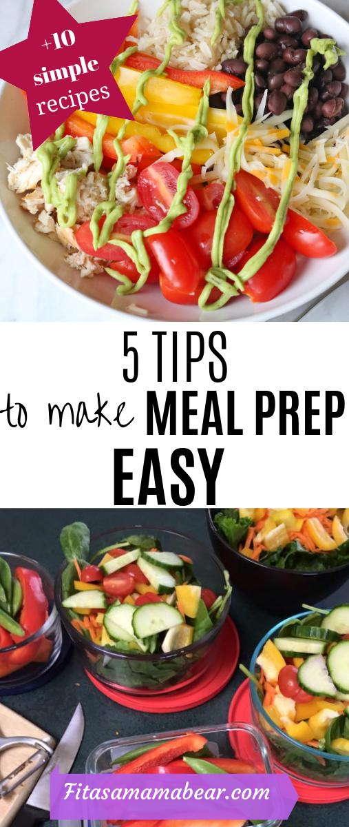 Meal prep easy recipes