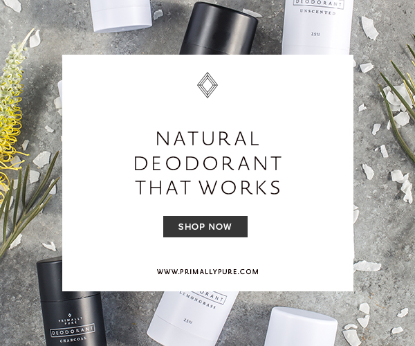 Primally Pure Natural Deodorant that works
